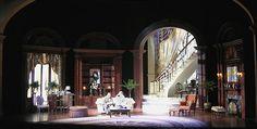 A Delicate Balance. Guthrie Theatre. Scenic design by John Arnone.