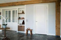 WK6521-A1 - Landelijke binnendeur met een landelijke uitstraling, mooi in een landelijk maar ook in een modern interieur. Ook toepasbaar als dubbele deuren of schuifdeur(en)
