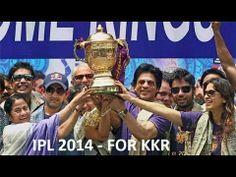 KKR - KOLKATA KNIGHT RIDERS SHAHRUKH KHAN TEAM WIN IPL 2014 - M.CHINNASW...