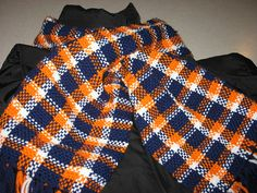 Denver Broncos Hand woven scarf,  to keep you warm on Etsy, $30.00