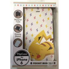 Pokemon Center 2015 Pikachu iPhone 6 Mobile Phone Flip Case