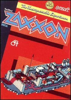 C64 Games - Zaxxon