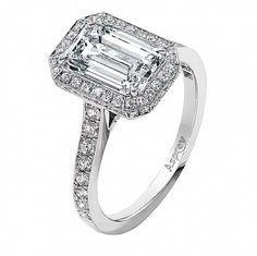 The Emerald Cut Ring--My Favorite Cut