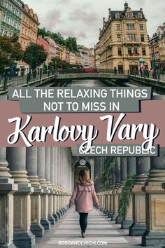 What to do in Karlovy Vary, Czech Republic and best things to do in Karlovy Vary or best things to do in Karlsbad - one of the world's best wellness destinations famous for its hot springs and spas. Hiking Europe, Europe Travel Guide, Asia Travel, Travel Usa, Great Buildings And Structures, Modern Buildings, Modern Architecture, Unique Vacations, Dubai Skyscraper