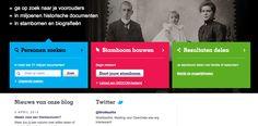 WieWasWie.nl is website voor stamboomonderzoek, het resultaat van samenwerking tussen een groot aantal archiefinstellingen.