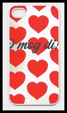 "Items similar to iPhone case ""I mog di!"" with a heart motif for iPhone 4 / on Etsy Iphone 4, Etsy Shop, Phone Cases, Unique Jewelry, Creative, Handmade Gifts, Vintage, Art, Iphone Case Covers"