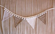 Buy gifts online from Hard to Find gifts Australia. Shabby Chic Bunting, Romantic Shabby Chic, Wedding Bunting, Baby Bunting, Fabric Garland, Bunting Garland, Curtain Tie Backs Diy, Bunting Ideas, Buy Gifts Online