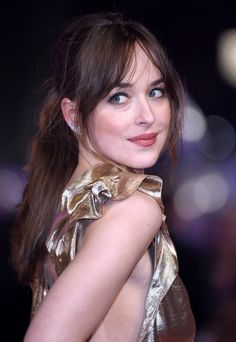 Dakota Johnson at the How To Be Single premiere in London - 9 Feb 2016
