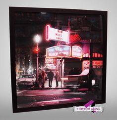 Miles Davis, Frames, Neon Signs, Frame