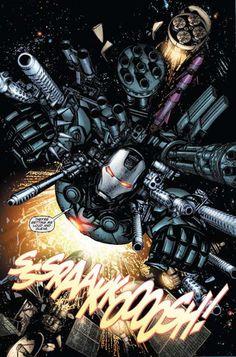 """marvel comics: """" war machine """" (maquina de guerra) kevinstone_12...... !!!!"""