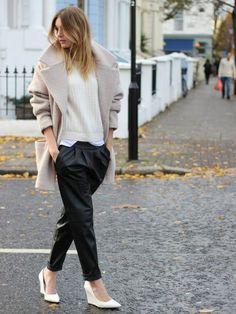 i love the harem pants and slouchy soft jacket