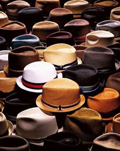 A man of many hats