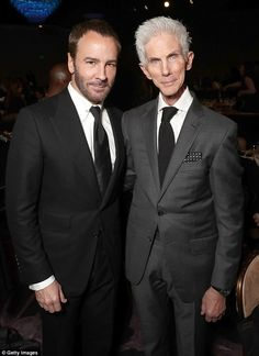 Tom Ford and husband Richard Buckley attend the 2017 Writers Guild Awards L.A. Ceremony at The Beverly Hilton Hotel on February 19, 2017 in Beverly Hills, California
