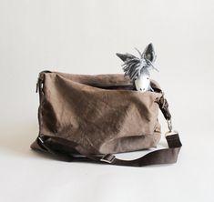 Felt Donkey  Henry. Art toy Animal Marionette by TwoSadDonkeys