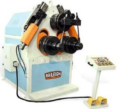 BAILEIGH RH150 PYRAMID ROLL BENDING MACHINE - Our biggest for large radius rolling of Pipe, Tube, Angle, Channel, flat bar, etc