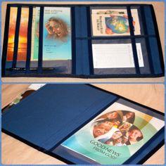Magazine and Book Folder Service Book Bag by GoodNewsFolders, $27.00