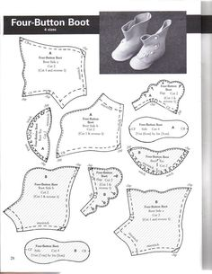 Make Doll Shoes — Yandex. Doll Shoe Patterns, Barbie Patterns, Clothing Patterns, Sewing Patterns, Sewing Dolls, Ag Dolls, Girl Dolls, Antique Dolls, Vintage Dolls