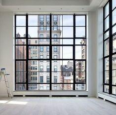 Trendy Apartment New York Loft Interior Design Apartment View, Apartment Entrance, Apartment Goals, Dream Apartment, Apartment Ideas, Apartment Design, Home Design, Loft Interior Design, Interior Ideas