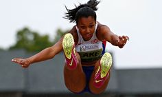 Britain's Morgan Lake must beat her personal best to get among the medals in the high jump.
