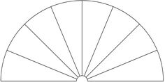 Dowsing Chart, 8 Pieces. You can use this picture to make your own Dowsing Chart, by adding any text or symbols you want.
