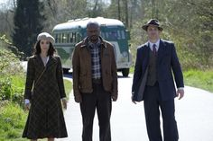 TIMELESS Scoop From The Set: Interview With Abigail Spencer and Malcolm Barrett