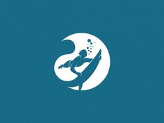 Logo Design Deep Water Extreme Watersports on Behance: