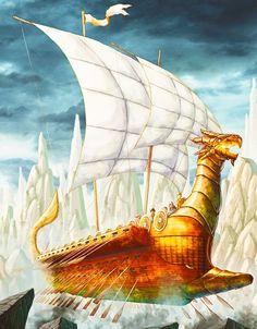 Heroes of Olympus Argo II