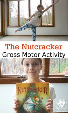 Keep the kids active this Christmas with this fun set of Gross Motor Activities based on the book The Nutcracker.#storybookadvent #grossmotor #movementactivities #rainydaymum