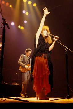 Stevie and Lindsey- Fleetwood Mac.