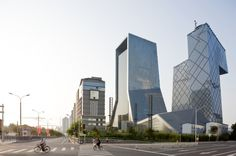 CCTV Headquarters / OMA #Beijing
