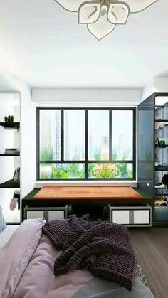 Small Room Design Bedroom, Small House Interior Design, Bedroom Furniture Design, Modern Bedroom Design, Home Room Design, 3d Camera, Home Design Software, Vern Yip, Apartment Interior