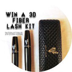 : Younique 3D fiber lash kit giveaway...   : the daily savant :