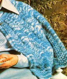 lavori a maglia: La mantellina della nonna