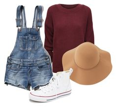 """""""tumblr"""" by livvie47 on Polyvore featuring WearAll, Abercrombie & Fitch, Sans Souci and Converse"""