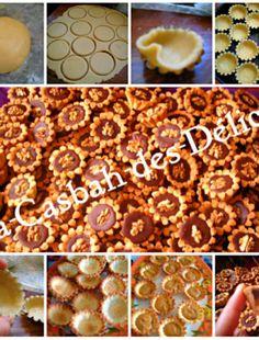 Tcharek msaker : Corne de Gazelle - La Casbah des Delices Biscuits, Caramel, Cereal, Mini, Breakfast, Cake, Blog, Photos, Cookies