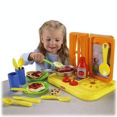 Fisher-Price Role Play Center Kitchen Bin