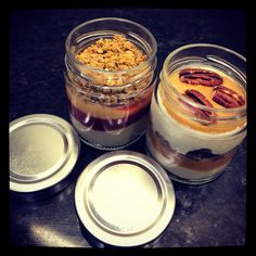 Verrines glacées [cabosse] Mulhouse Panna Cotta, Lunch, Ethnic Recipes, Food, Dulce De Leche, Eat Lunch, Essen, Meals, Lunches