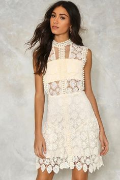Laguna Crochet Lace Dress