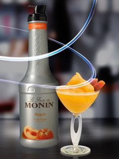 Monin Peach Püré 1L