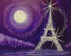 Jewel of Paris at Kinki Lounge Kitchen - Paint Nite Events