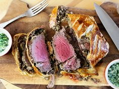 Beef Wellington. Christmas Eve dinner!