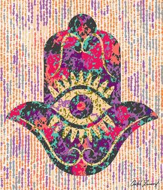 Evil Eye Art, Healing Hands, Hand Of Fatima, Abstract Drawings, Hamsa Hand, Astrology, Diy And Crafts, Mystery, Oriental