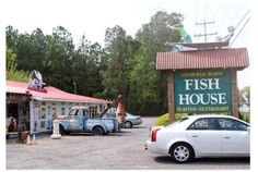 Litchfield Beach Fish House, Pawley's Island, SC. The owner greeted us at the door while choking on a shrimp...it was unforgettable.