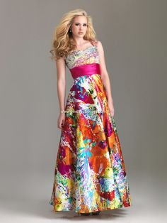 Night Moves Modest Prom Dresses