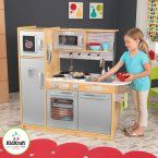 Kidkraft Pink Toddler Play Kitchen with Metal Accessory Set - 53291 - The adorable Kidkraft Pink Toddler Play Kitchen with Metal Accessory Set gives toddlers everything they need to cook up a delicious feast for the whol...