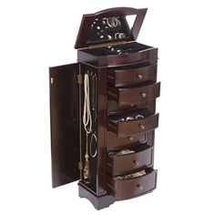 13 Best Large Floor Standing Jewelry Box Cabinet Images