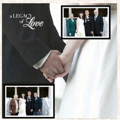 From our wedding album - designed with Storybook Creator 4.0 and Creative Memories Divine Digital Power Palette