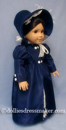 American Girl doll Josefina in Regency ensemble. http://www.dolliesdressmaker.com