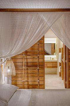 Muslin curtains