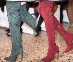 Emilio Pucci Boots @ Milan Fashion Week Fall 2013 #theeshoecloset